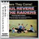PAUL REVERE & THE RAIDERS / HERE THEY COME! (Brand New Japan Mini LP CD) * B/O *