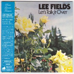 Photo1: LEE FIELDS / LET'S TALK IT OVER (Used Japan Mini LP CD)