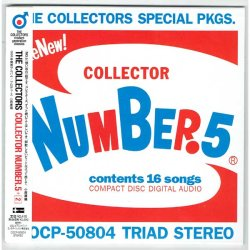 Photo1: THE COLLECTORS / COLLECTOR NUMBER.5 (Used Japan Mini LP CD)