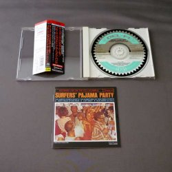 Photo2: THE BRUCE JOHNSTON SURFING BAND / SURFERS' PAJAMA PARTY (Used Japan Jewel Case CD) Beach Boys
