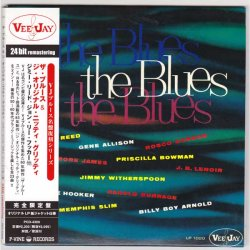 Photo1: V.A. / THE BLUES - THE ORIGINAL NITTY GRITTY (Used Japan mini LP CD)