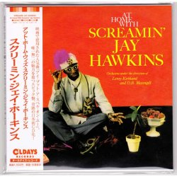 Photo1: SCREAMIN' JAY HAWKINS / AT HOME WITH SCREAMIN' JAY HAWKINS (Brand New Japan Mini LP CD)