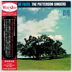 Photo1: THE PATTERSON SINGERS / SONGS OF FAITH (Used Japan mini LP CD)