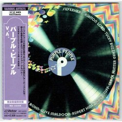 Photo1: V.A. / PURPLE PEOPLE (Used Japan mini LP CD) Deep Purple