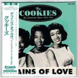 Photo1: THE COOKIES / CHAINS OF LOVE - THE DIMENSION YEARS 1962-1964 (Brand New Japan mini LP CD)  * B/O *
