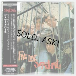 Photo1: THE YARDBIRDS / FIVE LIVE YARDBIRDS (Used Japan mini LP CD)