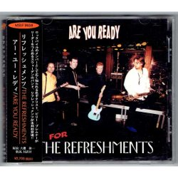 Photo1: THE REFRESHMENTS / ARE YOU READY (Used Japan Jewel Case CD)