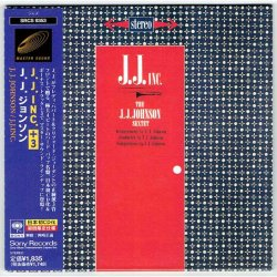 Photo1: J.J. JOHNSON / J.J. INC. (Used Japan Mini LP CD)
