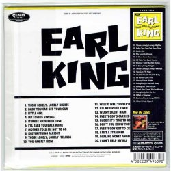 Photo2: EARL KING / THOSE LONELY, LONELY NIGHTS (Brand New Japan Mini LP CD)