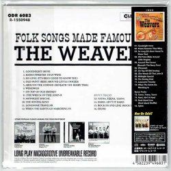 Photo2: THE WEAVERS / FOLK SONGS MADE FAMOUS BY THE WEAVERS (Brand New Japan mini LP CD)