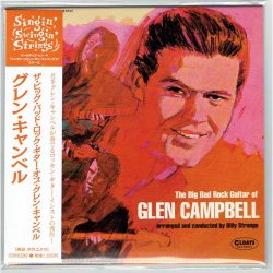 Photo1: GLEN CAMPBELL / THE BIG BAD ROCK GUITAR OF GLEN CAMPBELL (Brand New Japan Mini LP CD)