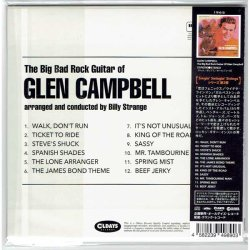 Photo2: GLEN CAMPBELL / THE BIG BAD ROCK GUITAR OF GLEN CAMPBELL (Brand New Japan Mini LP CD)
