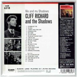Photo2: CLIFF RICHARD AND THE SHADOWS / ME AND MY SHADOWS (Brand New Japan Mini LP CD) * B/O *