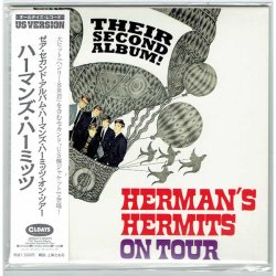 Photo1: HERMAN'S HERMITS / HERMAN'S HERMITS ON TOUR - THEIR SECOND ALBUM! (Brand New Japan mini LP CD) * B/O *