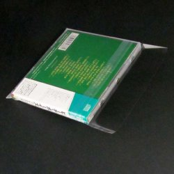 Photo4: RESEALABLE OUTER SLEEVES for Jewel Case CD (100 pieces)