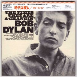 Photo1: BOB DYLAN / THE TIMES THEY ARE A CHANGIN' (Used Japan Mini LP CD)
