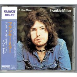 Photo1: FRANKIE MILLER / ONCE IN A BLUE MOON & HIGH LIFE (Used Japan Jewel Case CD)