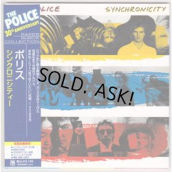 Photo2: THE POLICE / SYNCHRONICITY (Used Japan Mini LP CD + DU Promo OBI)