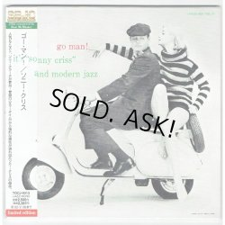 Photo1: SONNY CRISS / GO MAN! (Used Japan Mini LP CD)