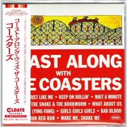 Photo1: THE COASTERS / COAST ALONG WITH THE COASTERS (Brand New Japan Mini LP CD)