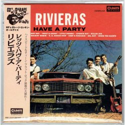 Photo1: THE RIVIERAS / LET'S HAVE A PARTY (Brand New Japan Mini LP CD) * B/O *