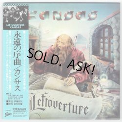 Photo1: KANSAS / LEFTOVERTURE (Used Japan Mini LP Blu-spec CD - Promo Sample)