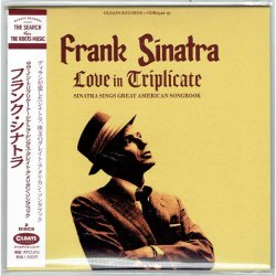 Photo1: FRANK SINATRA / LOVE IN TRIPLICATE - SINATRA SINGS GREAT AMERICAN SONGBOOK (Brand New Japan Mini LP CD)