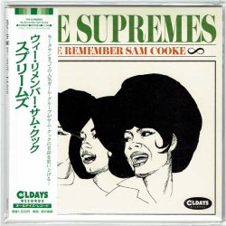 Photo1: THE SUPREMES / WE REMEMBER SAM COOKE (Brand New Japan Mini LP CD) * B/O *