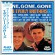 THE EVERLY BROTHERS / GONE, GONE, GONE (Brand New Japan Mini LP CD) * B/O *