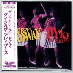 Photo1: DYKE AND THE BLAZERS / THE FUNKY BROADWAY (Brand New Japan Mini LP CD)