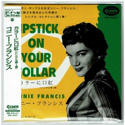 Photo1: CONNIE FRANCIS / LIPSTICK ON YOUR COLLAR - SINGLES COLLECTION VOL.1 (Brand New Japan mini LP CD) * B/O *