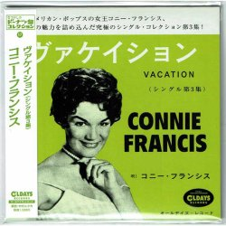 Photo1: CONNIE FRANCIS / VACATION - SINGLES COLLECTION VOL.3 (Brand New Japan mini LP CD) * B/O *