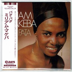 Photo1: MIRIAM MAKEBA / PATA PATA (Brand New Japan mini LP CD) * B/O *