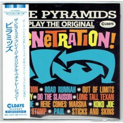 Photo1: THE PYRAMIDS / THE PYRAMIDS PLAY THE ORIGINAL PENETRATION! (Brand New Japan mini LP CD) * B/O *