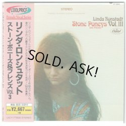 Photo1: LINDA RONSTADT / THE STONE PONEYS AND FRIENDS VOL.III (Used Japan mini LP SHM-CD)