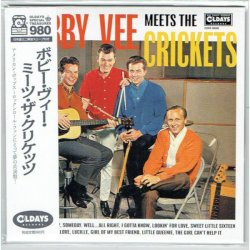 Photo1: BOBBY VEE, THE CRICKETS / BOBBY VEE MEETS THE CRICKETS (Brand New Japan mini LP CD) * B/O *