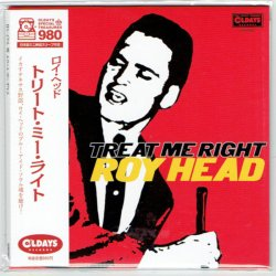 Photo1: ROY HEAD / TREAT ME RIGHT (Brand New Japan mini LP CD) * B/O *