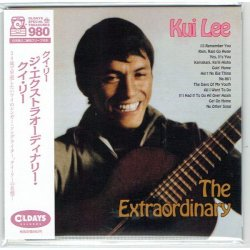 Photo1: KUI LEE / THE EXTRAORDINARY KUI LEE (Brand New Japan mini LP CD) * B/O *