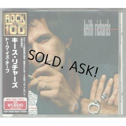 Photo1: KEITH RICHARDS / TALK IS CHEAP (Used Japan Jewel Case CD)