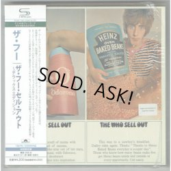 Photo1: THE WHO / THE WHO SELL OUT - DELUXE EDITION (Used Japan mini LP SHM-CD)