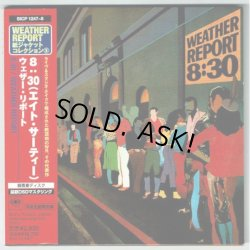 Photo1: WEATHER REPORT / 8:30 (Used Japan mini LP CD)