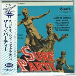 Photo1: O.S.T / SURF PARTY (Brand New Japan mini LP CD) * B/O *