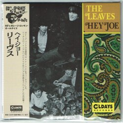 Photo1: THE LEAVES / HEY JOE (Brand New Japan mini LP CD) * B/O *