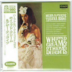 Photo1: HERB ALPERTS TIJUANA BRASS / WHIPPED CREAM & OTHER DELIGHTS (Brand New Japan mini LP CD) * B/O *