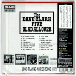 Photo2: THE DAVE CLARK FIVE / GLAD ALL OVER (Brand New Japan mini LP CD)
