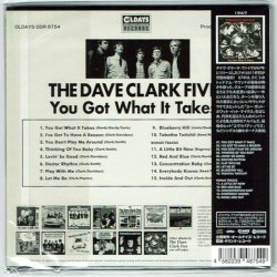 Photo2: THE DAVE CLARK FIVE / YOU GOT WHAT IT TAKES (Brand New Japan mini LP CD)