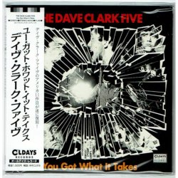 Photo1: THE DAVE CLARK FIVE / YOU GOT WHAT IT TAKES (Brand New Japan mini LP CD)