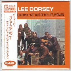 Photo1: LEE DORSEY / RIDE YOUR PONY - GET OUT OF MY LIFE WOMAN (Brand New Japan mini LP CD) * B/O *