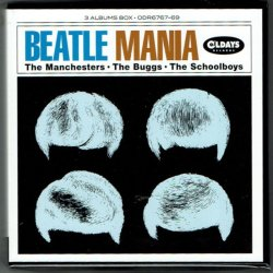 Photo1: THE MANCHESTERS, THE BUGGS & THE SCHOOLBOYS / BEATLE MANIA (Brand New Japan mini LP CD BOX) * B/O *