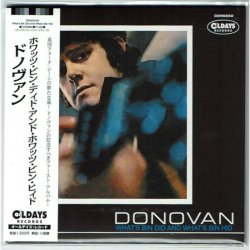 Photo1: DONOVAN / WHAT'S BIN DID AND WHAT'S BIN HID (Brand New Japan mini LP CD) * B/O *